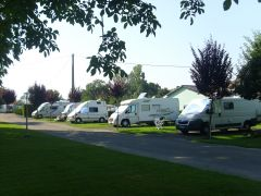 Emplacement camping cars