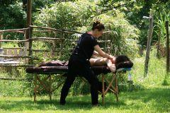 massage à la belle verte