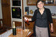 Edith la propriétaire de Bastide de Lassalle