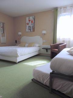 Chambre familiale confortable 4 pers