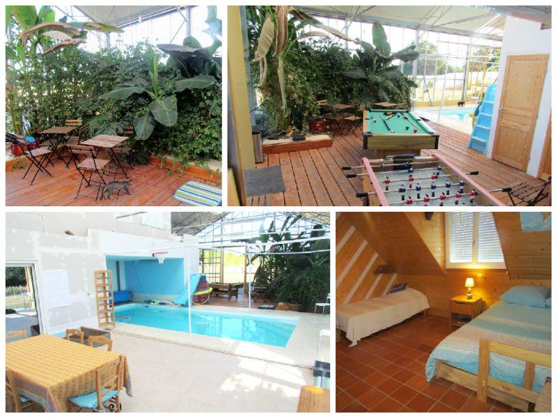 piscine et salle de jeu