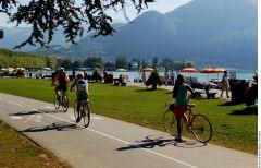 Voie verte Cyclo et lac d'Annecy