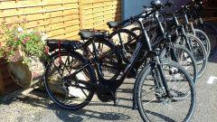 Location de vélos électriques sur place