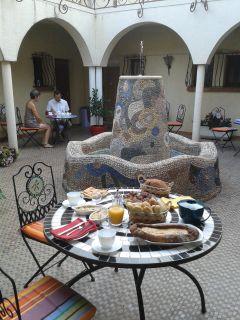 petit dejeuner patio