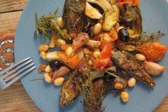 Table d'hôtes végétarienne