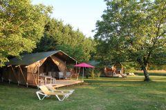 Domaine Le Bost Tentes safaris