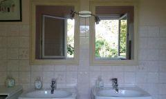 salle de  bain chambre ouest