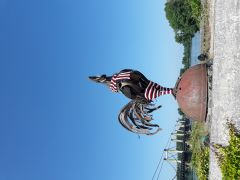 sculpture, port de Montjean