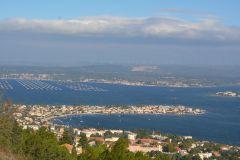 Panorama vu de la propriété