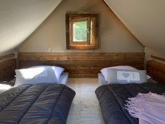 Cabane sur Pilotis Chambre