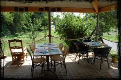 terrasse du restaurant