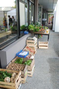 Un air de marché sur la terrasse