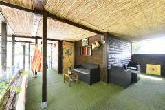 Terrase accès chambres Anges de la musique et chambre anges de lumière