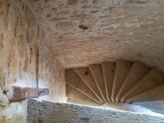 L'escalier en pierre