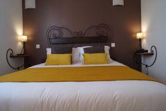 Les chambres confort de l'Hôel le Gardon -Pont du Gard