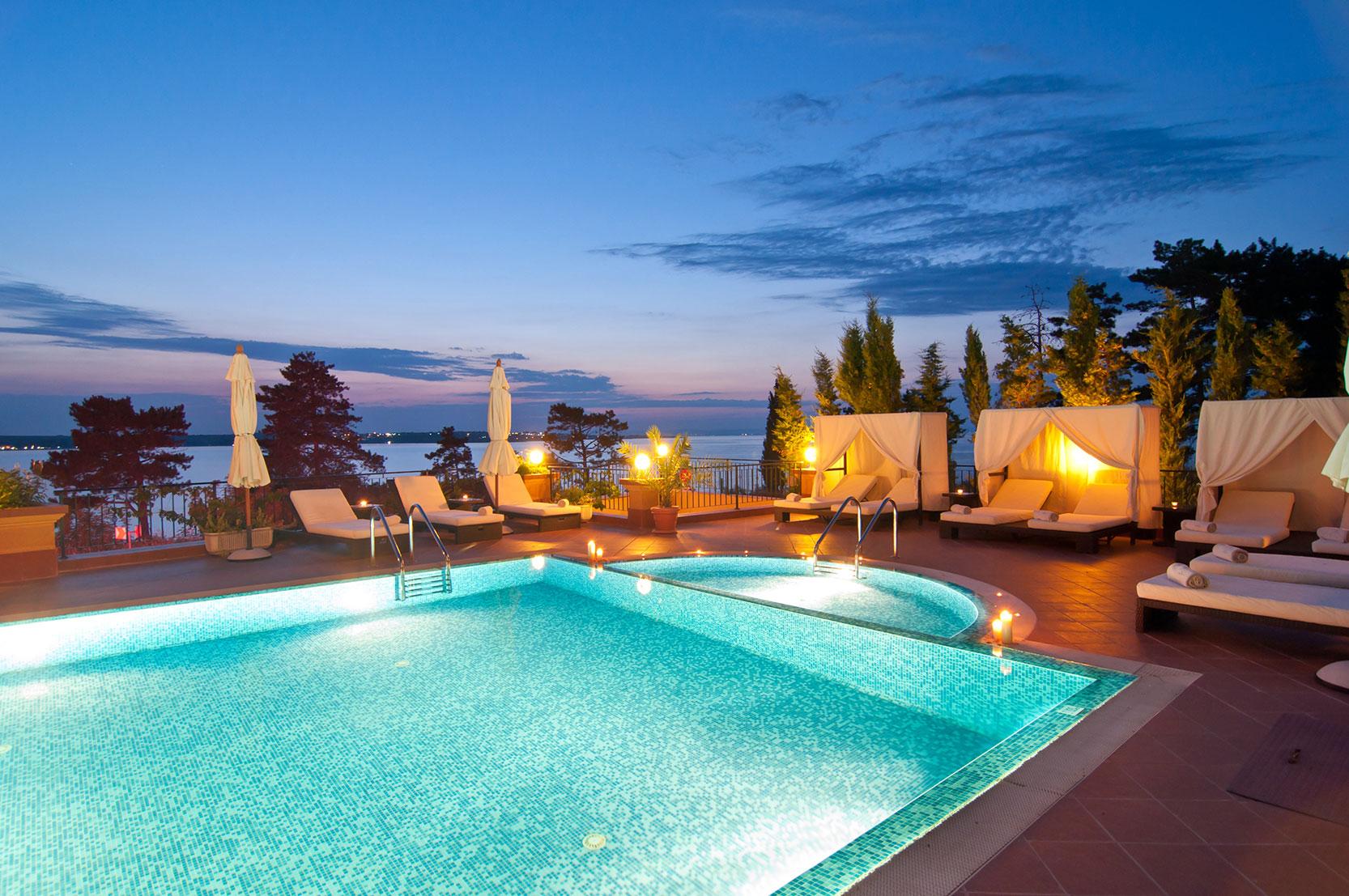 Vacances piscine